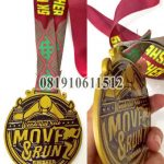 medali running custom